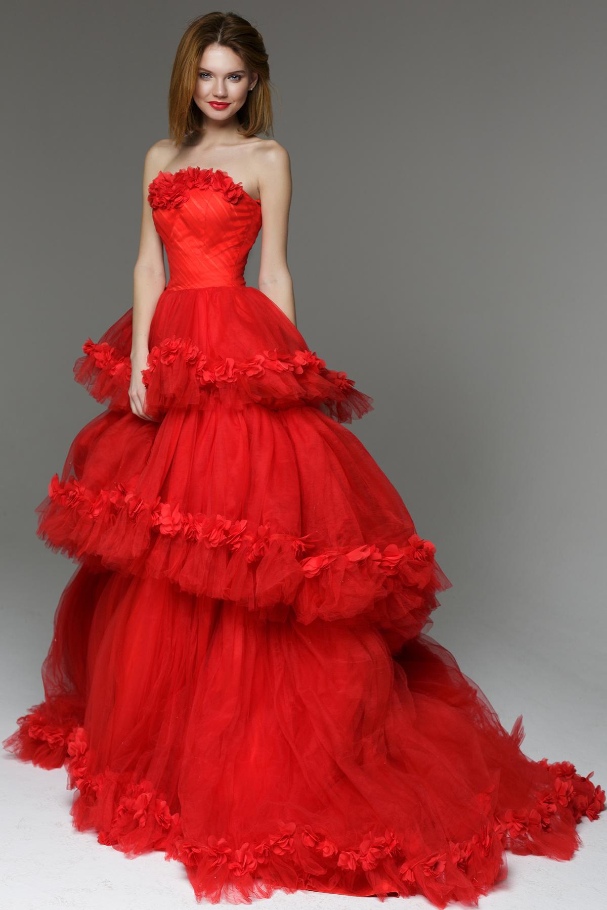 всё платья красные розовые картинки задает