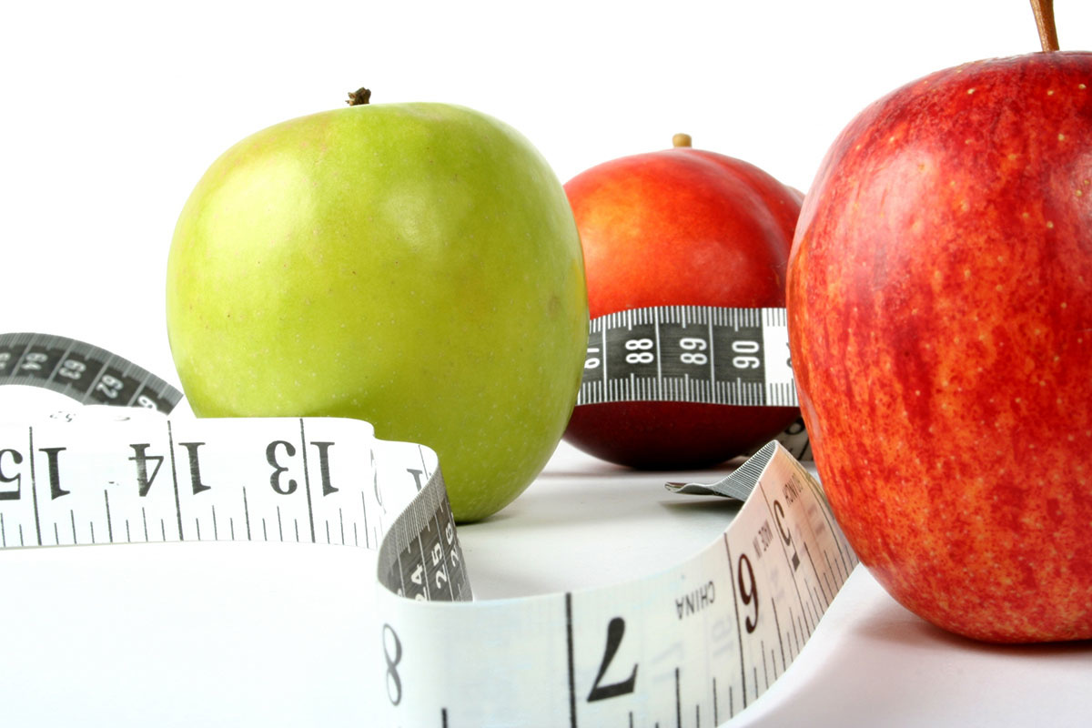 Польза яблока для похудения
