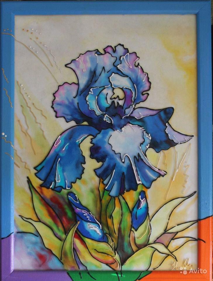 Картинки рисование витражными красками
