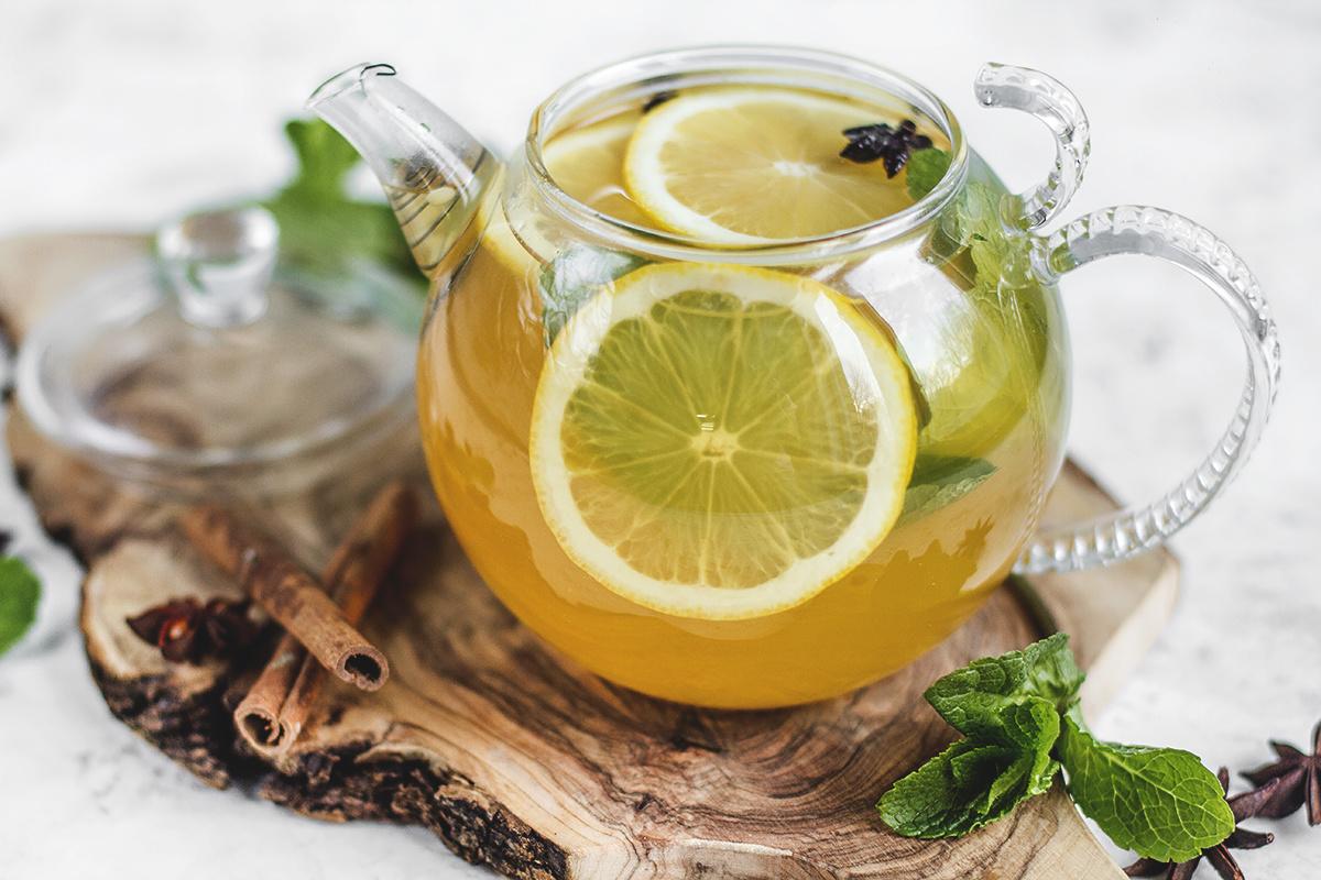 валентина картинка чай с лимоном и медом и улыбка для тех, кто
