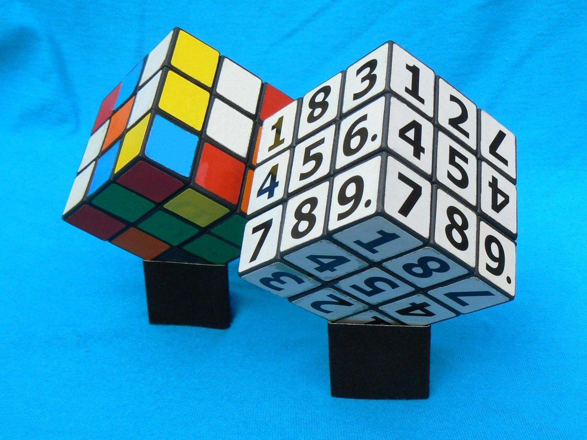 открытка кубик рубика черти прочая нечисть