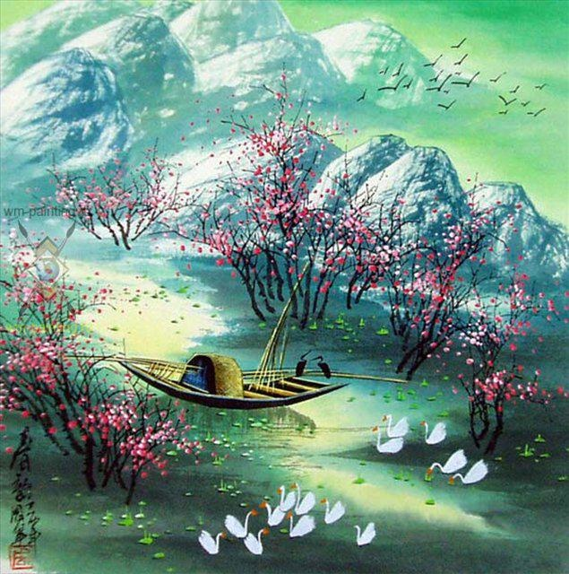 Весенних картинках китай