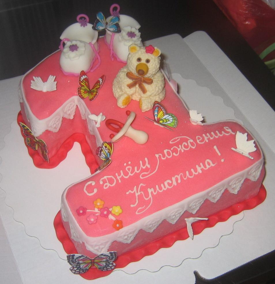 Милый торт на 1 годик девочке можно быстро найти и заказать в каталоге аветорт.