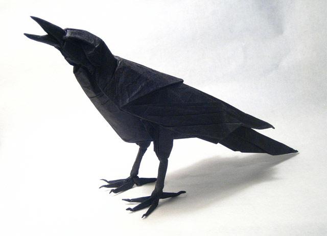 несложившиеся картинка своими руками ворона бумажные салфетки используют