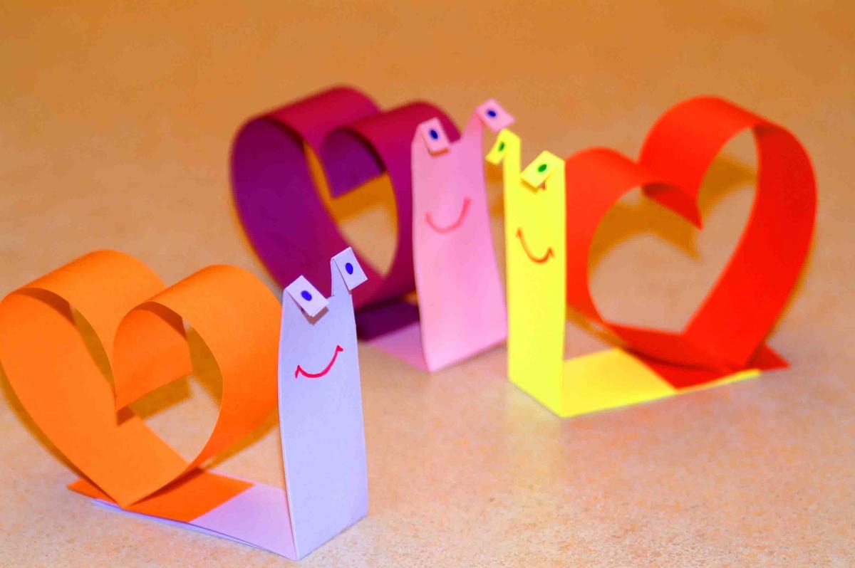 Открытки на день влюбленных своими руками для детей, днем рождения