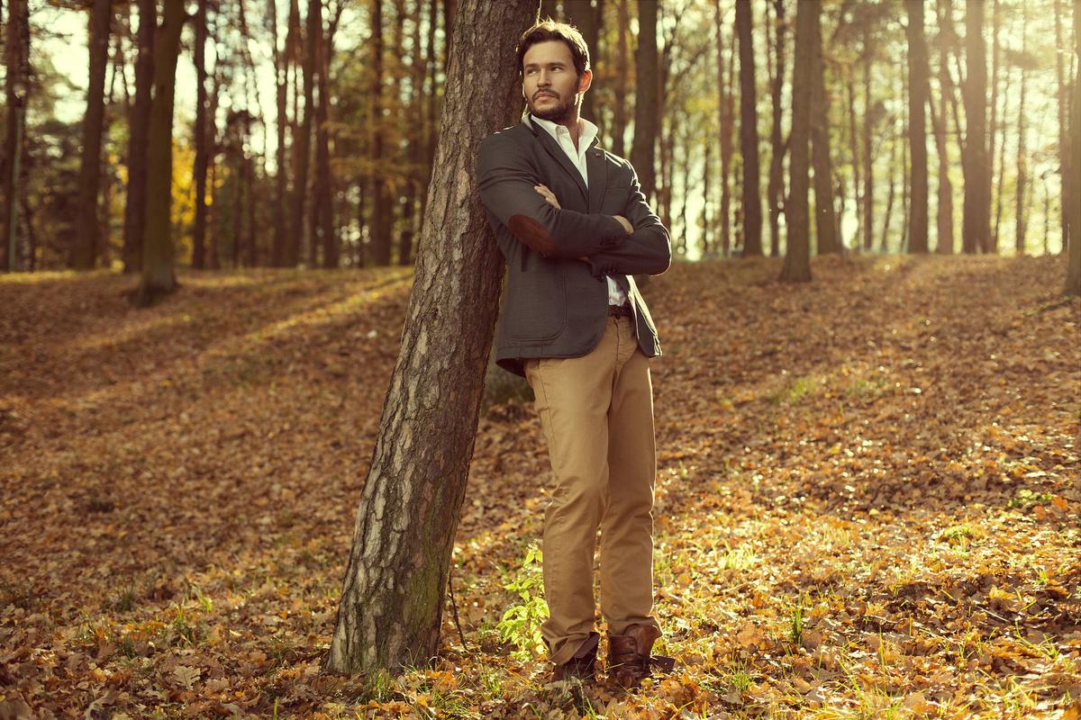 отреагировать красивые картинки мужчина лес взять карточку понравившегося