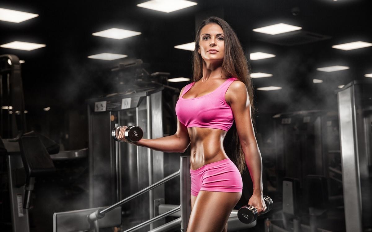 Фото девушек в фитнес зале, Спортивные девушки (37 фото) 6 фотография