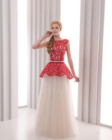 Красное красивое платье в пол.» — картка користувача slonoksana у ... 7b01932f2fb0f