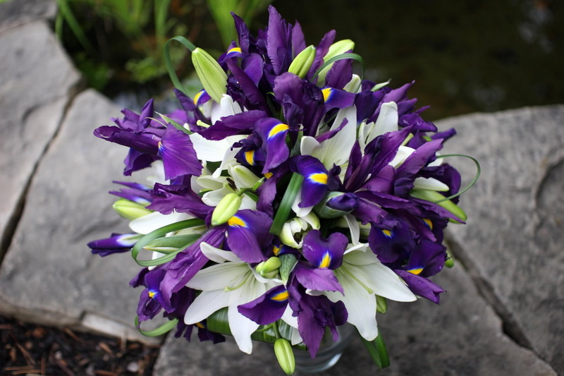 Фото самый красивый букет лилий это