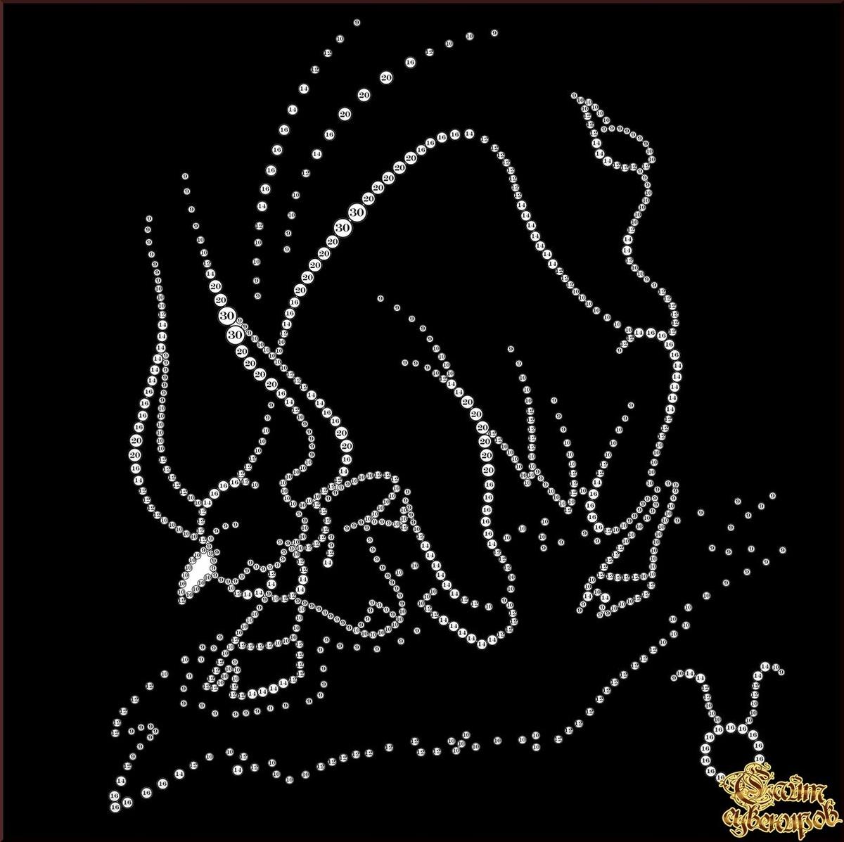 Картинки с стразами скорпиона