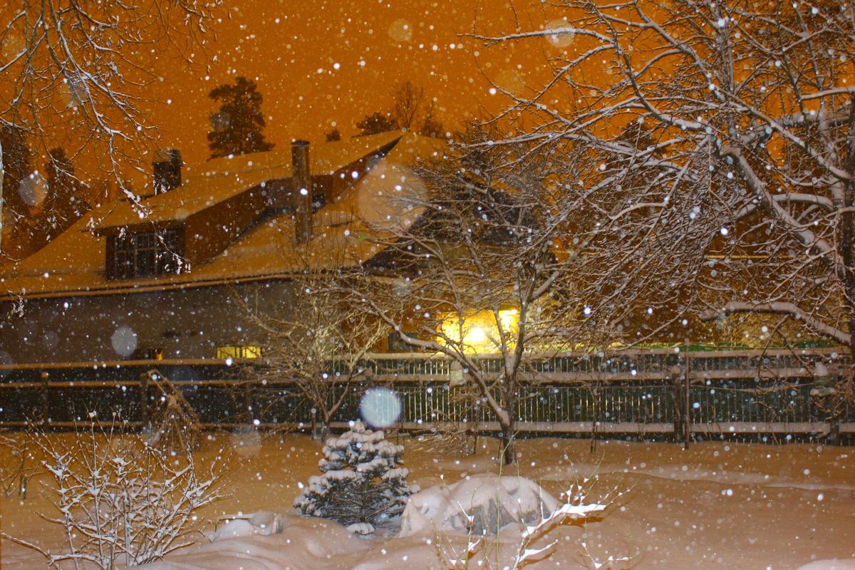 зачем как сделать фото с падающим снегом быстрый