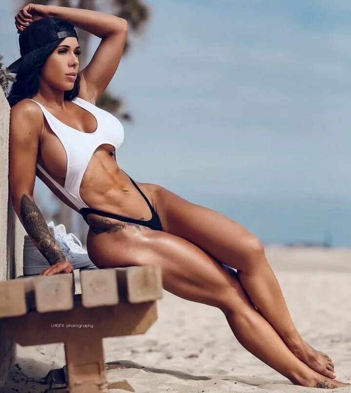 Savanna Rehm Hot Bikini Girls Beach Bodies Crossfit Athletes Adulttime 1