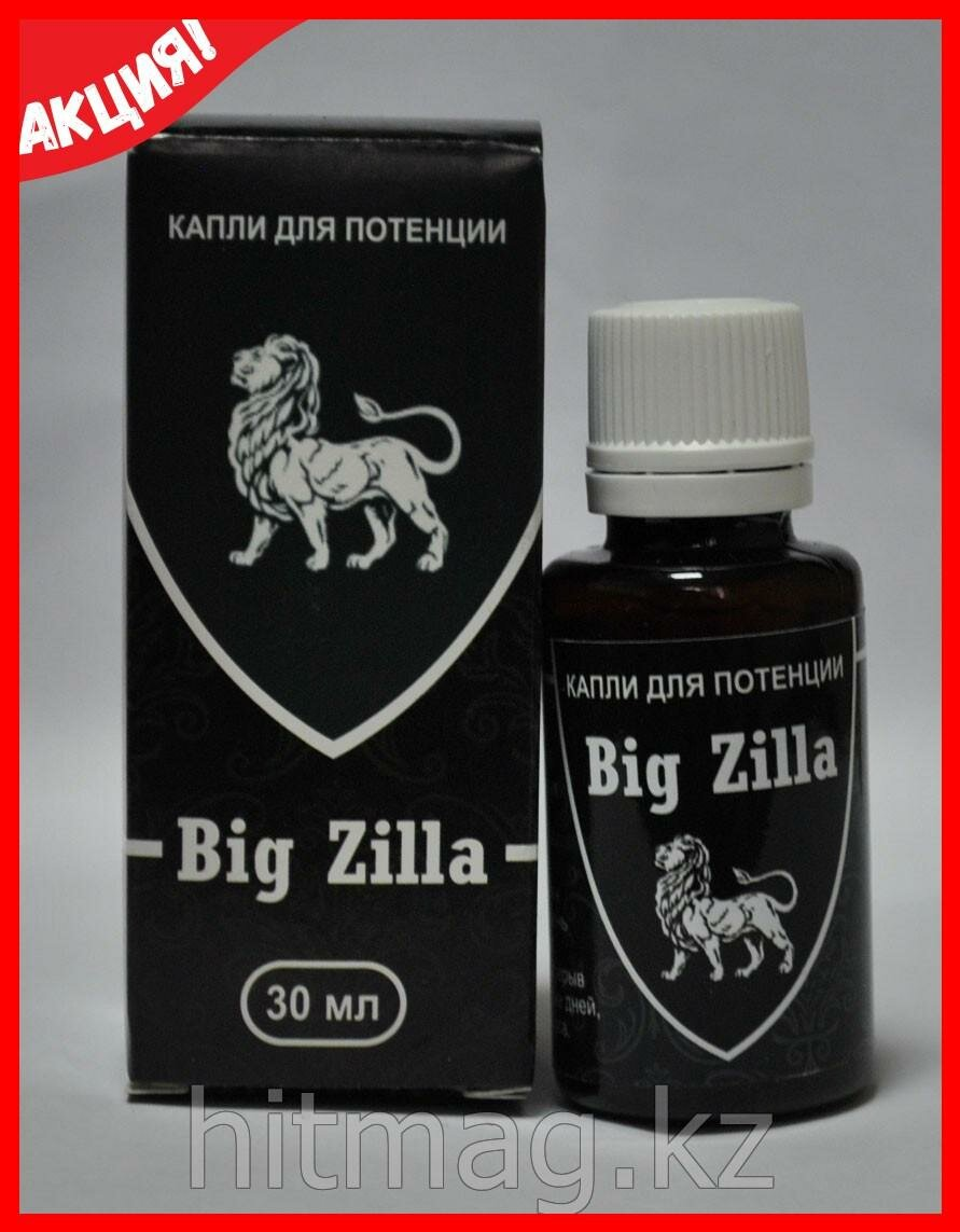 Big Zilla - капли для потенции в Батайске