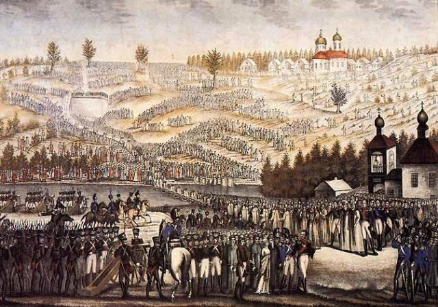 22 сентября 1839 года состоялась закладка Храма Христа Спасителя в Москве