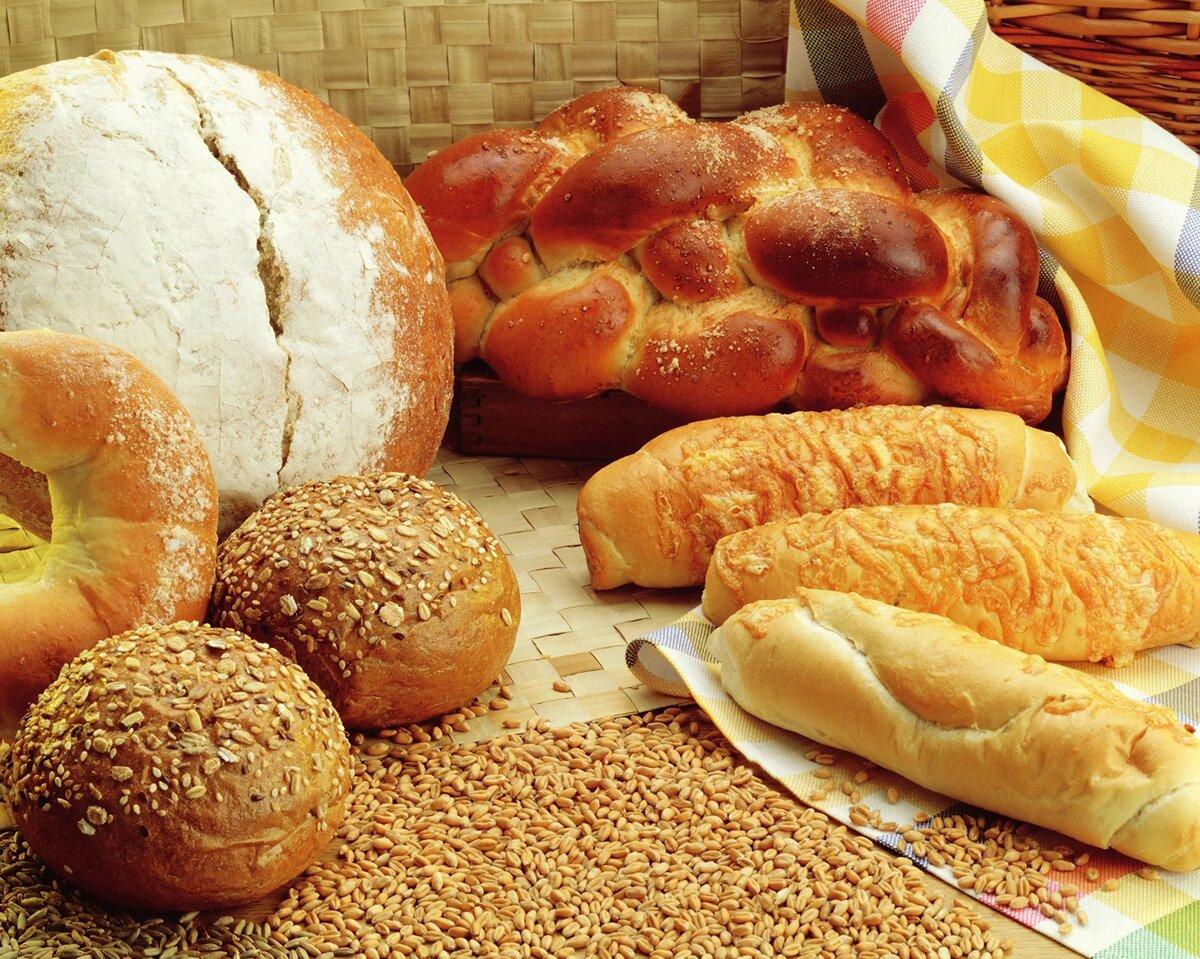 Картинки с хлебом и хлебобулочными изделиями