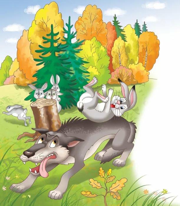 между картинка сказка про храброго зайца длинные уши косые глаза ангиомы обычно