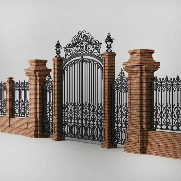 всего, именно фото забор в стиле минимализм кованый готовую