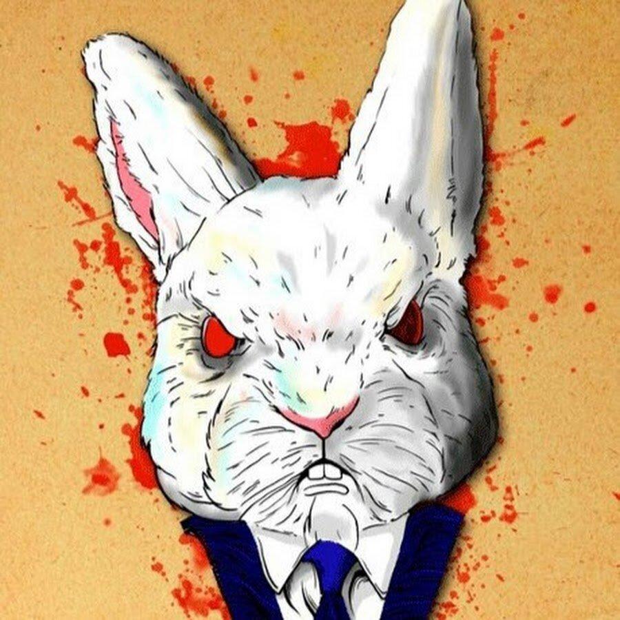 Кролик с отбросов картинка