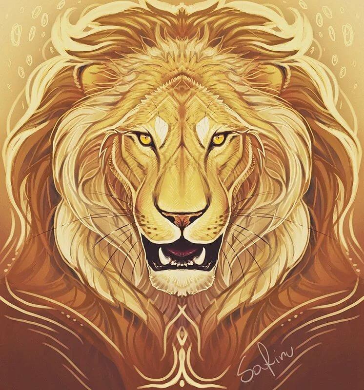 Картинки тигра льва на аву