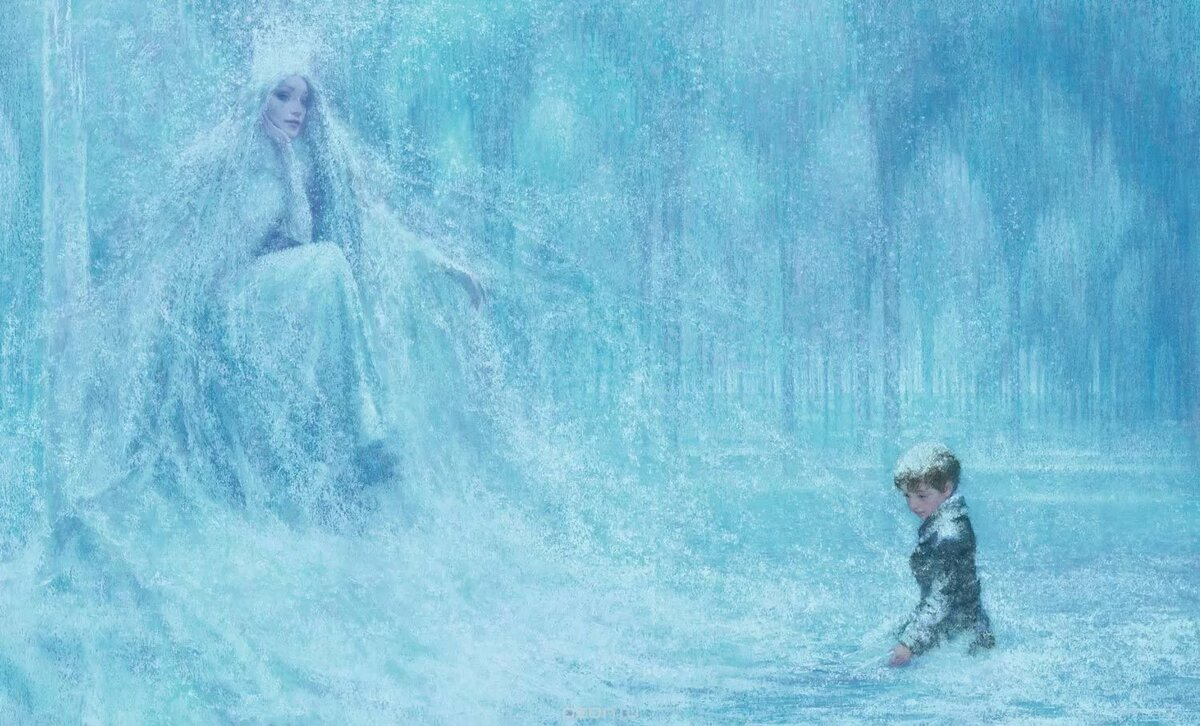 кай собирает слово вечность картинка сказка помочь ребенку облегчить
