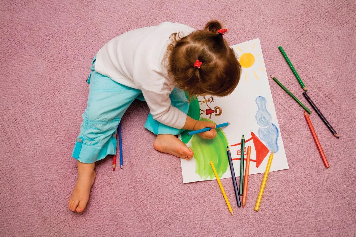 зависимости картинки рисующих малышей ангел голубом
