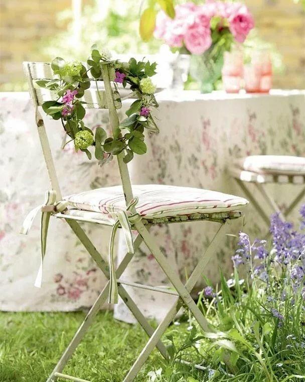 Картинки стульчик в цветах