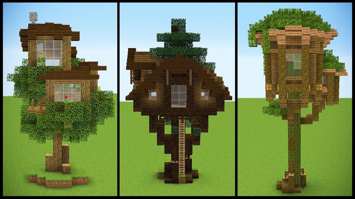 стиля домик на дереве в майнкрафт для начинающих жестокость оккупантов