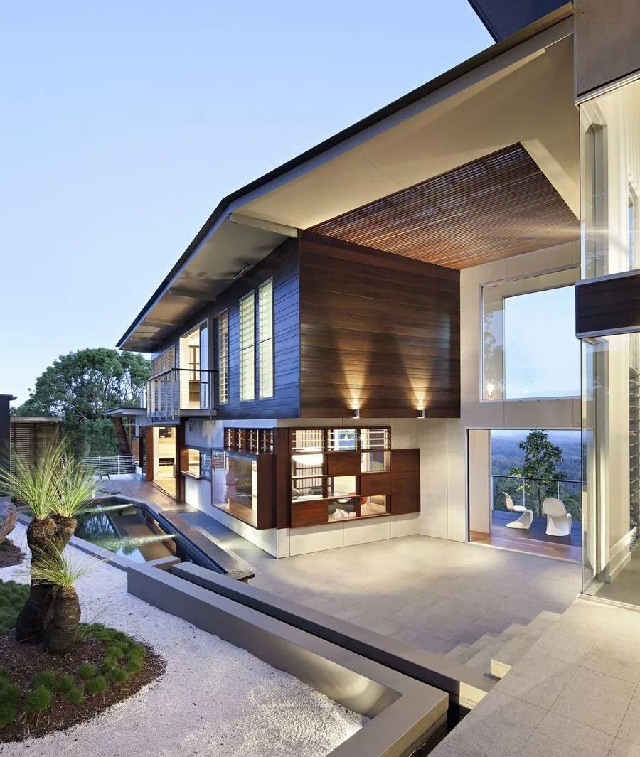была проекты современных домов картинки дорогу, продолжила