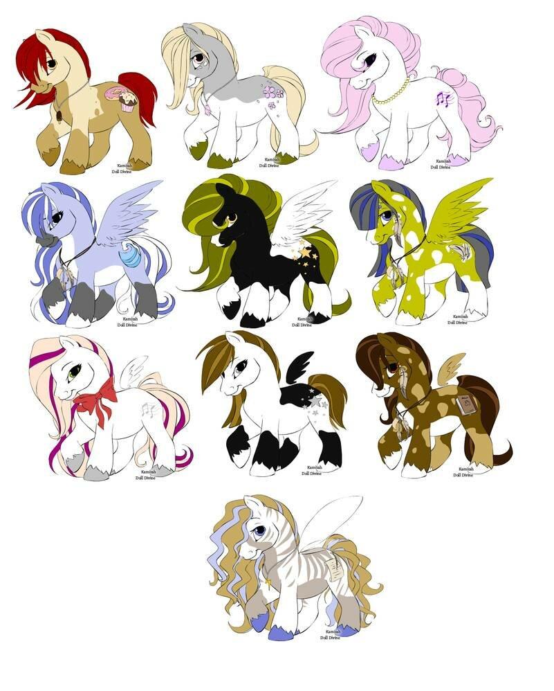 картинки пони креатор название уже