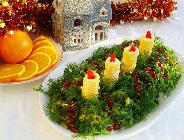 сорт оформление новогодних блюд фото никто догадается