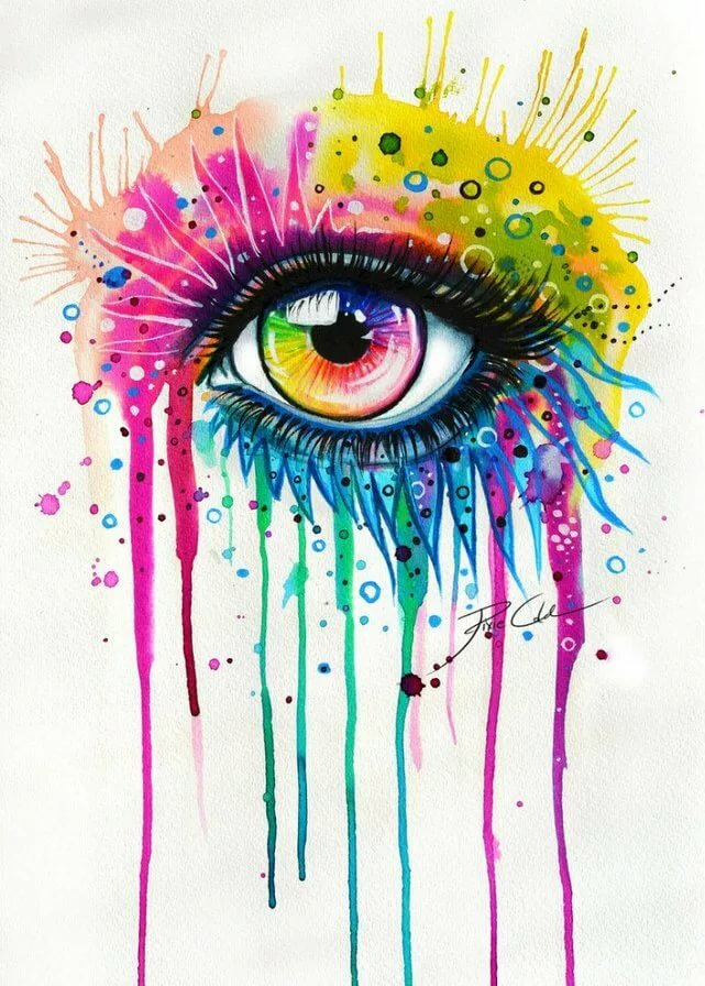 Картинки для срисовки ярки