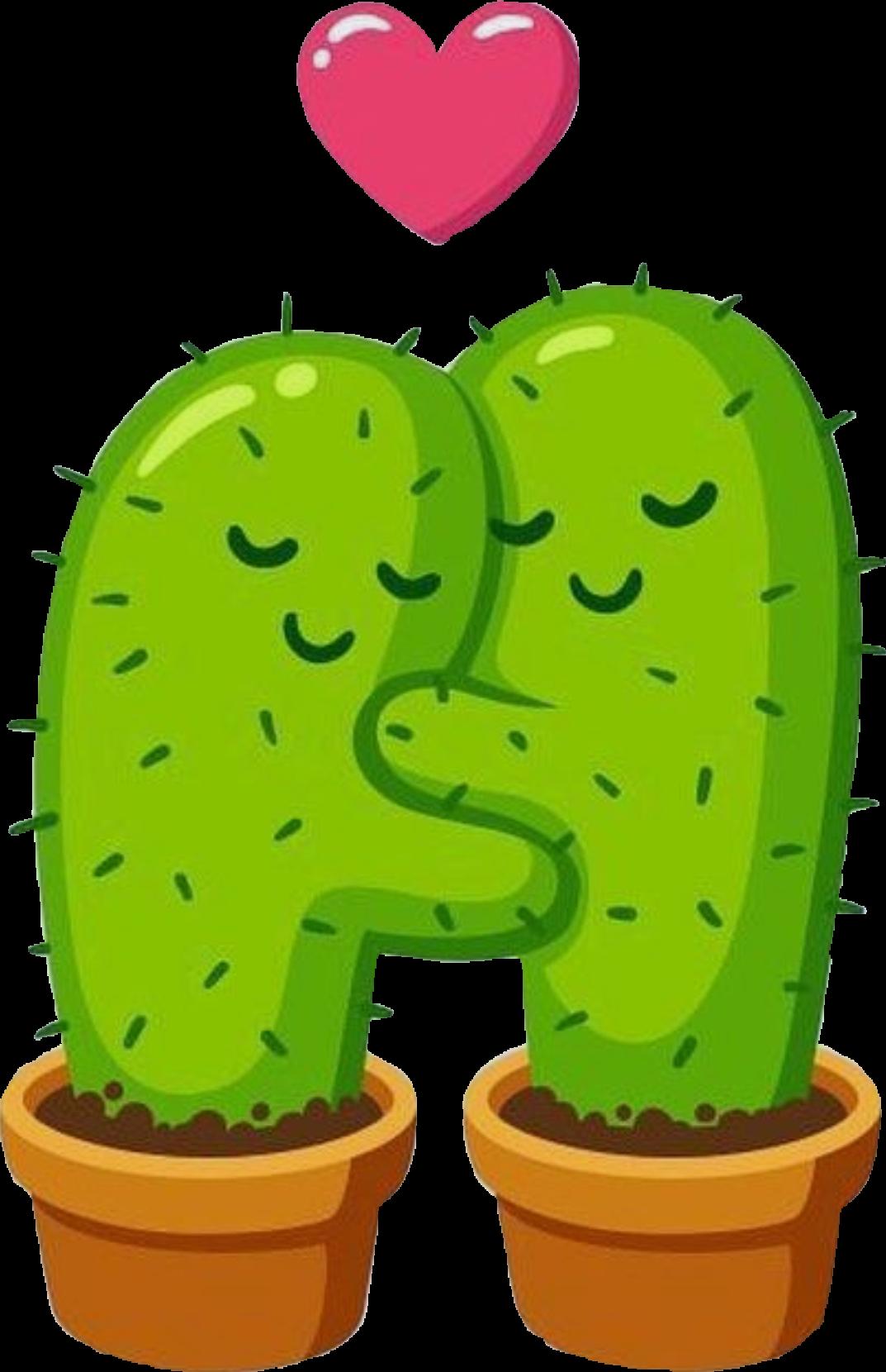 Картинки кактусов прикольные нарисованные для срисовки