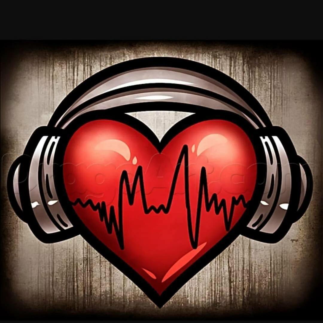 Рок-н-рольные картинки с сердечками