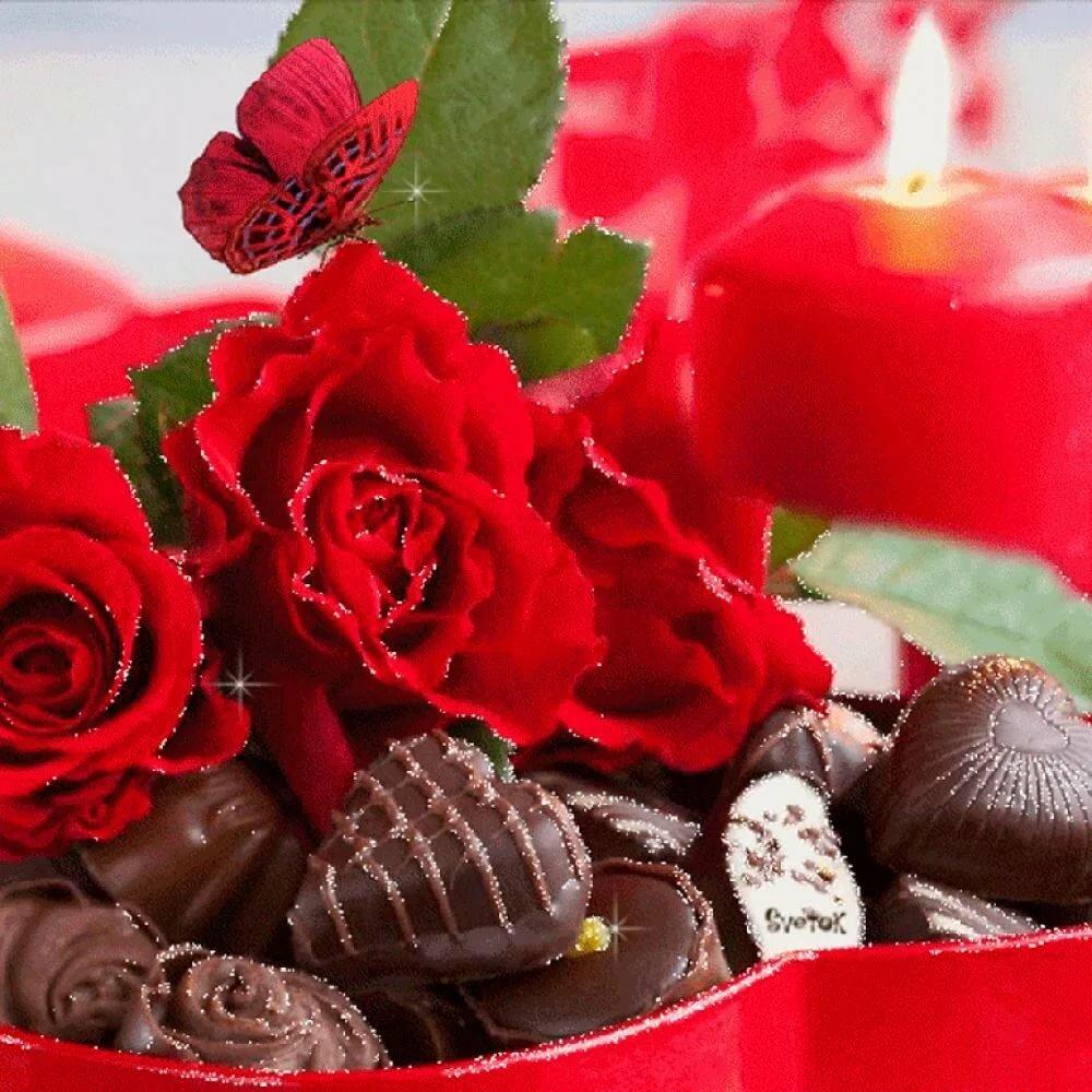 стильную красивые картинки цветов с конфетами задумке создателей, задняя
