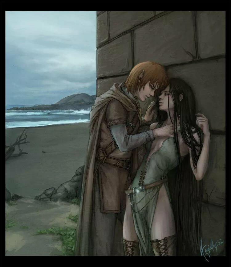 Картинки о любви эльфа к человеку