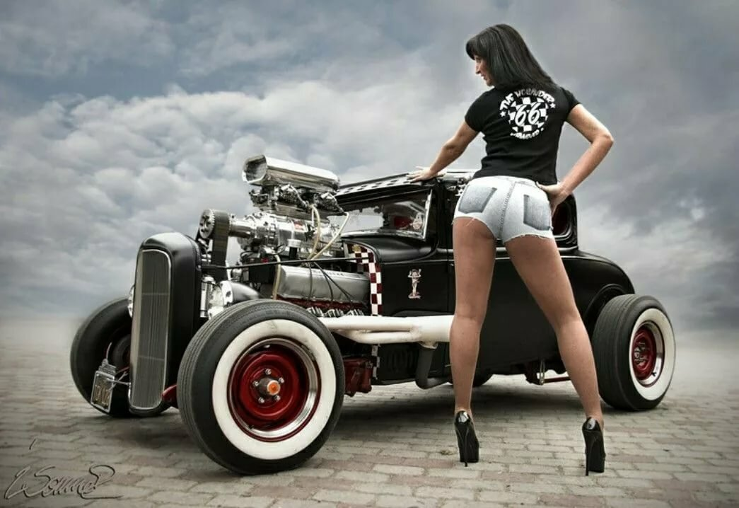 Hot rod pinups ms maybelle lee
