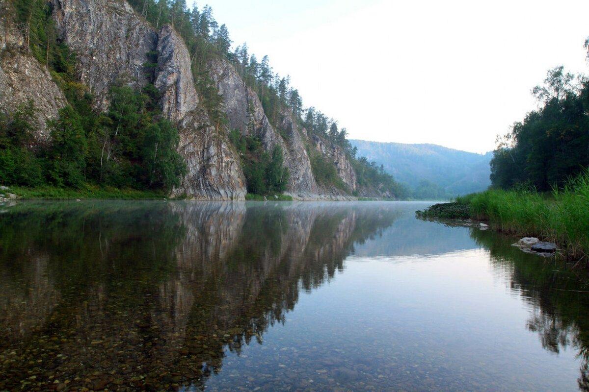 Картинки реки ай башкирия выглянуло солнышко