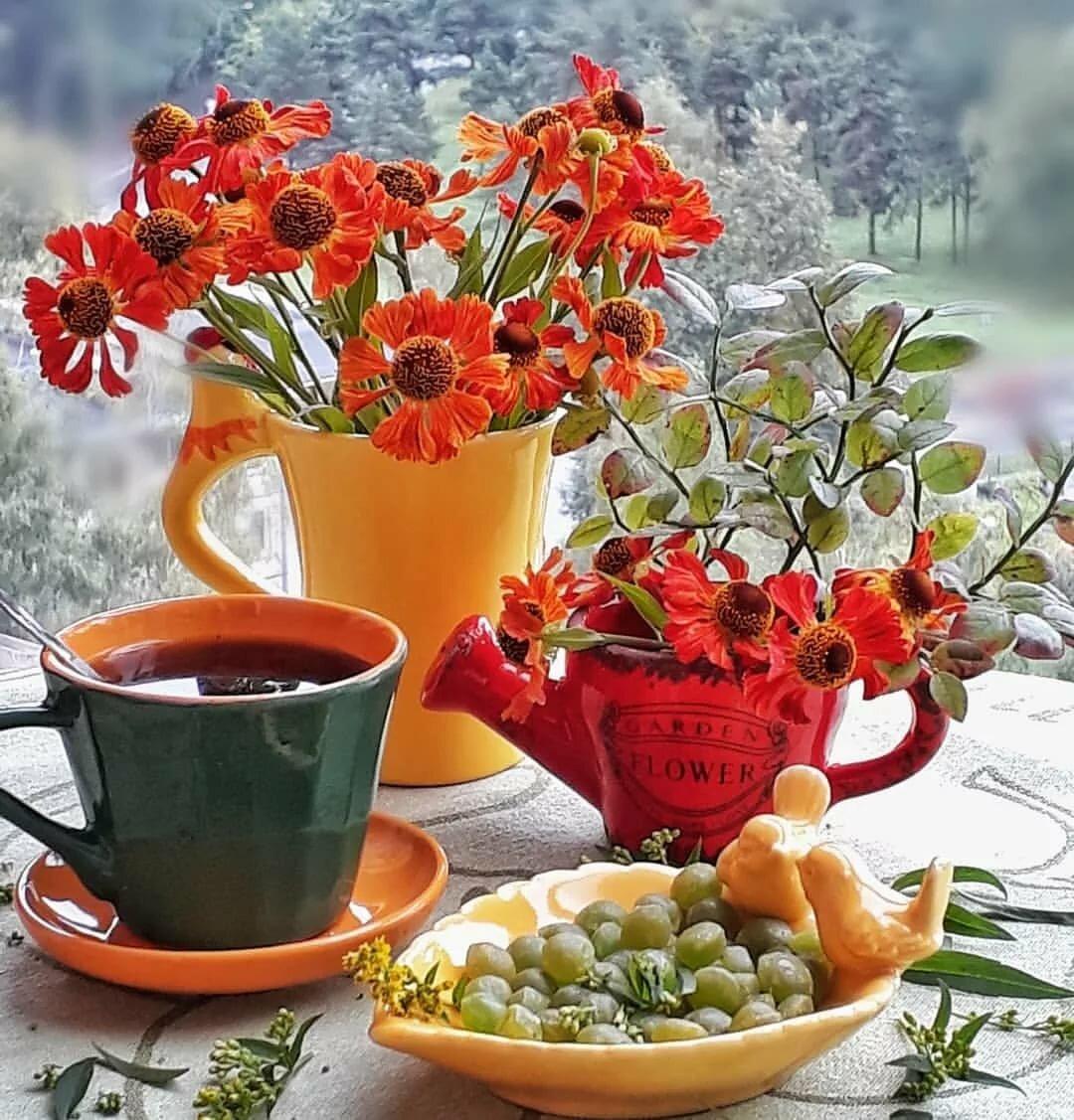 Фото картинки доброе утро хорошего настроения