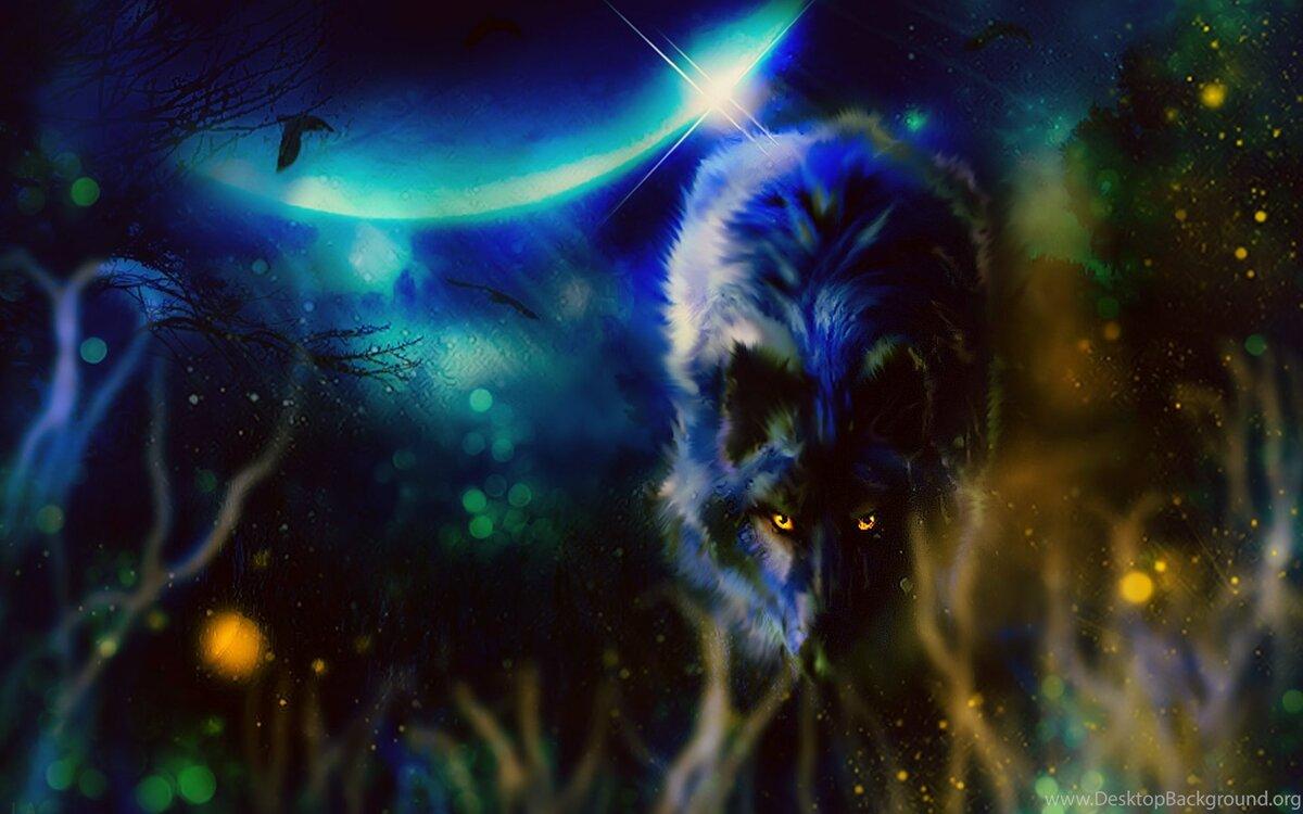 Картинки фантастический волк