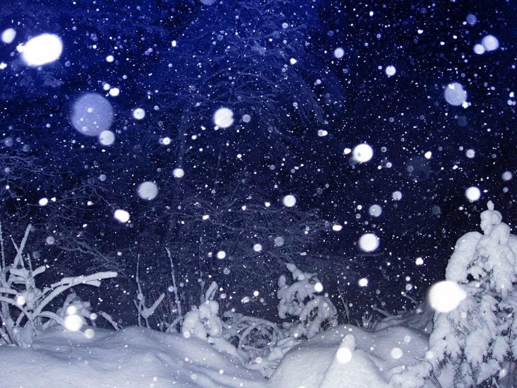 плаву картинки летящий снег или