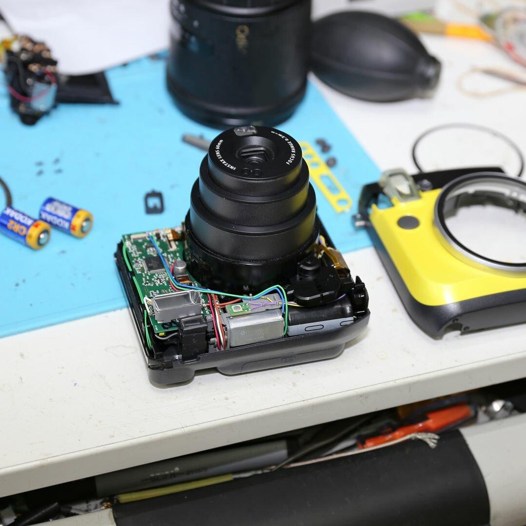 давно был ремонт качественно фотоаппаратов районе