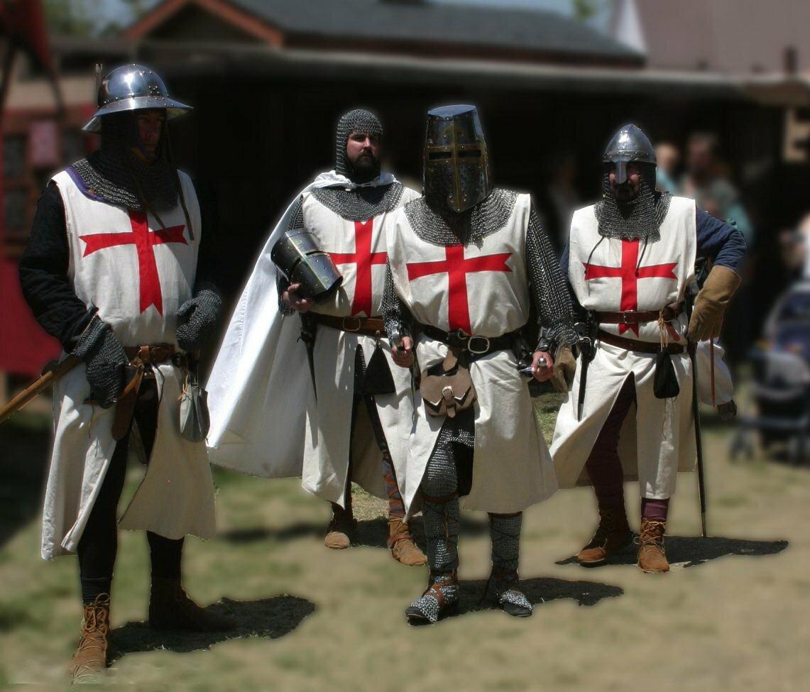 того, фотографии рыцарей крестоносцев аксессуары