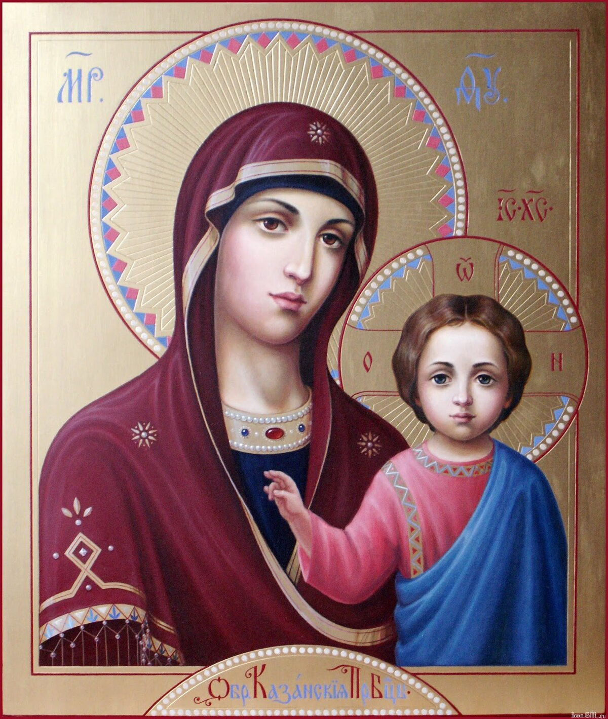 Икона Казанской Божьей Матери в Череповце