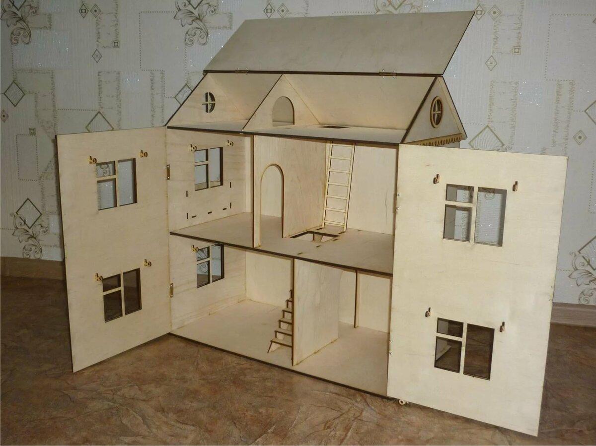 первый раз кукольный дом чертежи фото плана