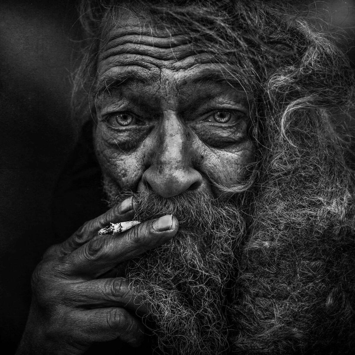 ледяные картинка старик с сигарой пастельных тонах идеальное
