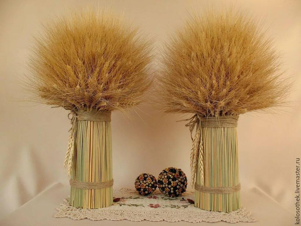 картинки из пшеницы своими руками для начинающих