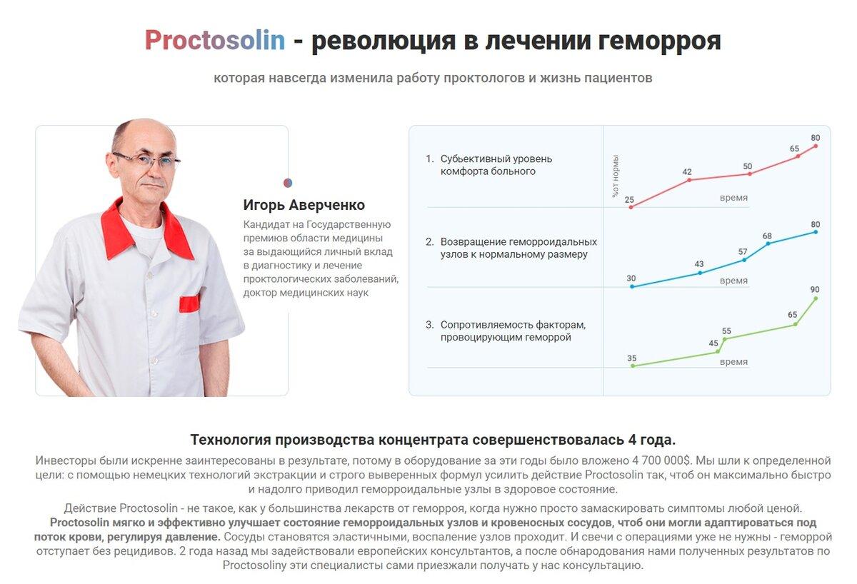 Проктозолин комплекс от геморроя в Алчевске