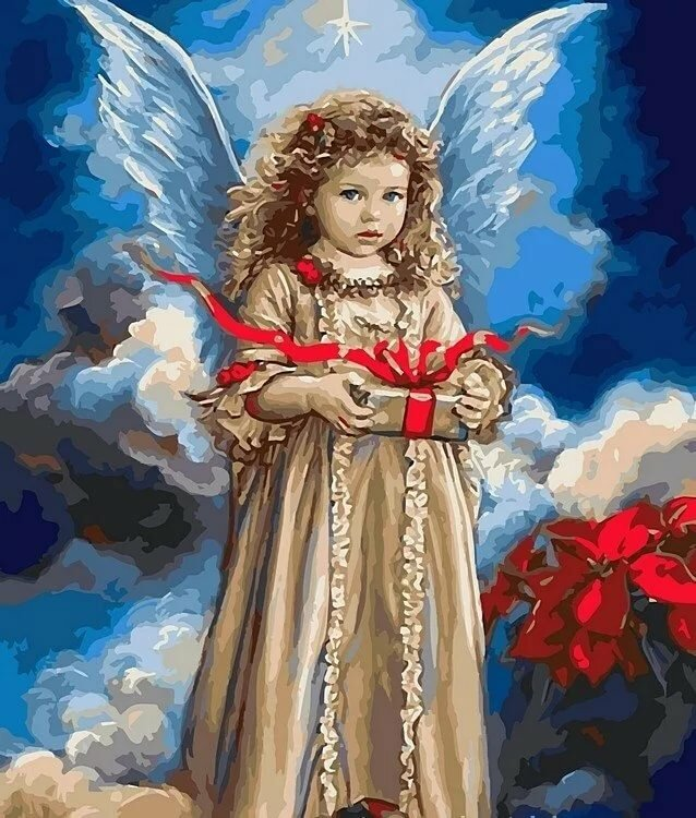 Ангелы в картинках серия