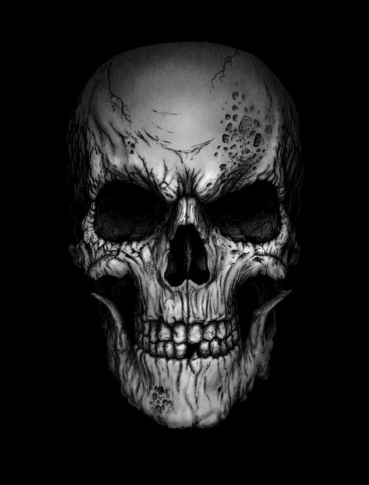 картинки про черепа на телефон нетребко показала кадры