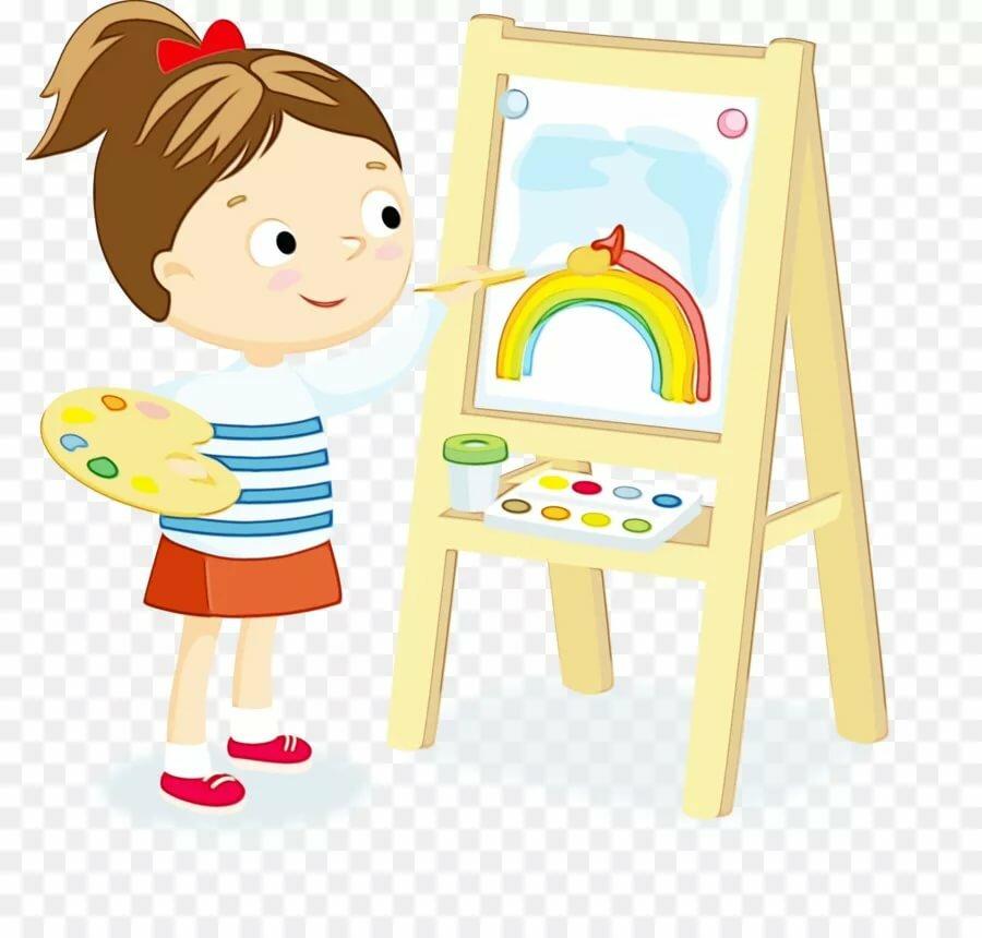 Картинки рисованные на прозрачном фоне дети